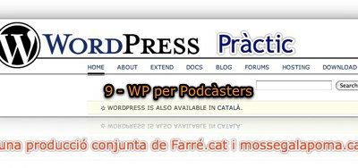 WordPress Pràctic 9 – WP per Podcàsters