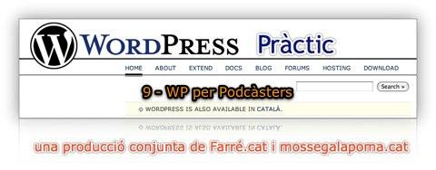 tutorial de wordpress practic 9 - wp per podcasters