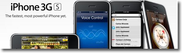Nou iPhone 3GS a WWDC'09