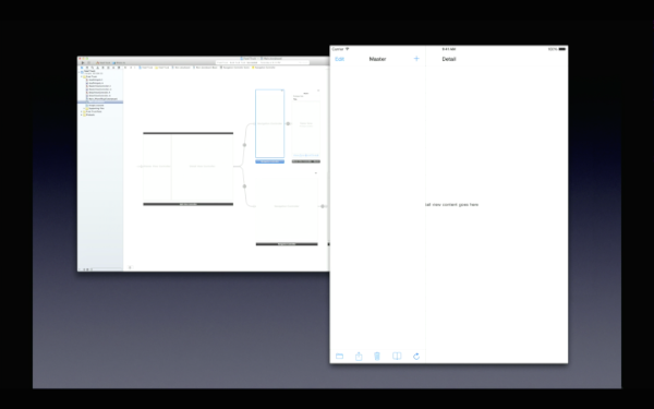 xcode size classes