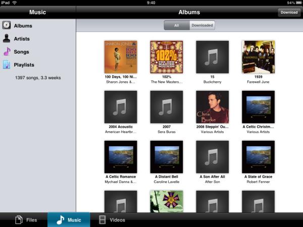 ZumoCast iPad